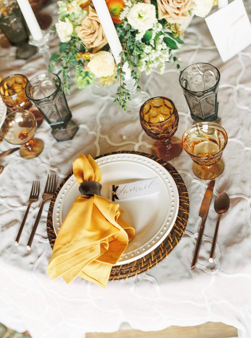 Bourbon & Honey Styled Shoot