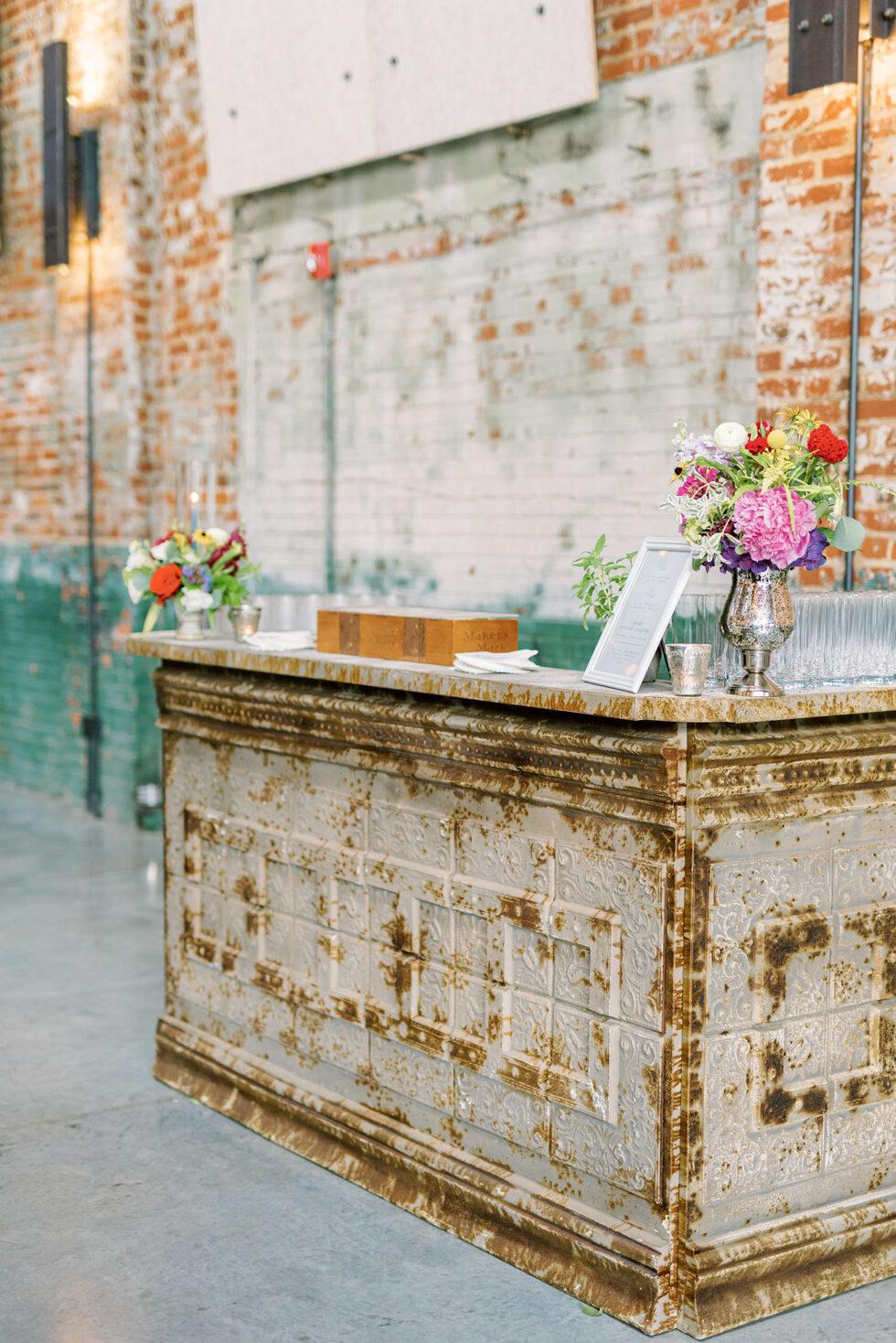 Colorful-Downtown-Wedding-at-Cadillac-Service-Garage-23